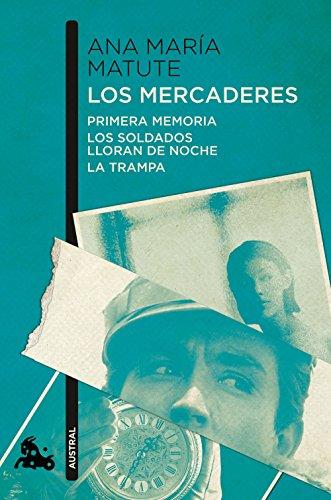 Portada del libro Los mercaderes (Contemporánea)