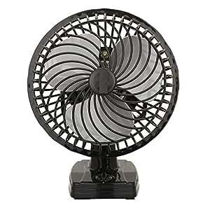 VARSHINE 2400 RPM Plastic Table Fan (Black)