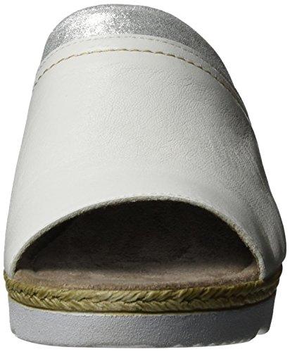 Jana - 27200, Pantofole Donna Bianco (White 100)