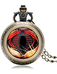 Cobra : Pocket Watch Trendy Men Gift United States Cool Fashion Hot Army Special Force/Delta Force/Cobra/Marshal...