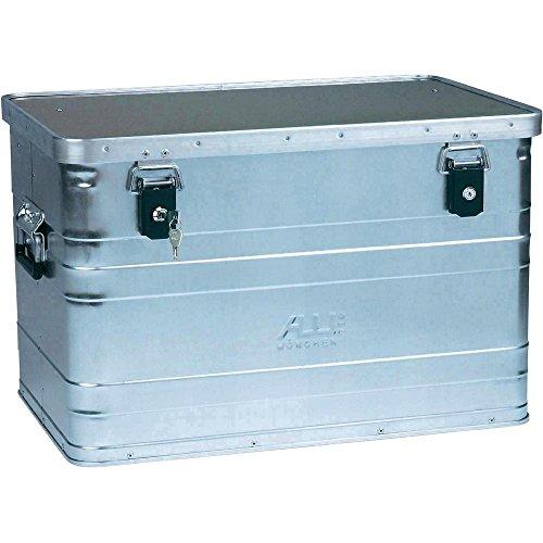 ALUTEC 2031070 Aluminiumbox B70 mit Zylinderschloss, 595 mm x 390 mm x 380 mm