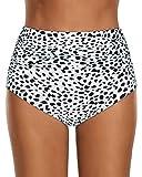 Abravo Femme String Maillots de Bain Bikini Shorts Bottom Taille Haute Triangle Plage...