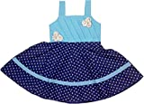 Retaaz Girls' Frock (Rkgf46, Blue, 3-4 Y...