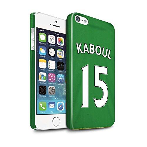 Officiel Sunderland AFC Coque / Clipser Brillant Etui pour Apple iPhone SE / Pack 24pcs Design / SAFC Maillot Extérieur 15/16 Collection Kaboul