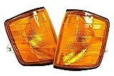 Mercedes 190 W201 USA Typ 1982-1993 Gelb Blinker Blinkleuchte li+re Paar OEM AL