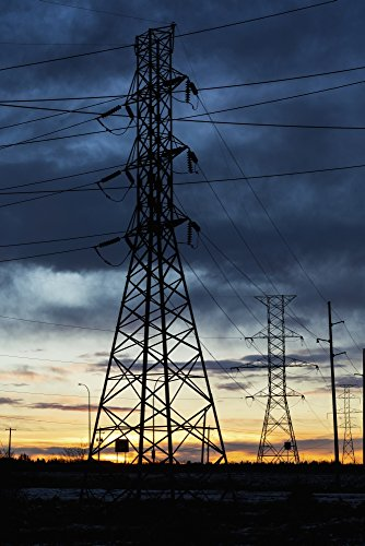 michael-interisano-design-pics-silhouette-of-large-metal-powerline-towers-with-glowing-sky-calgary-a
