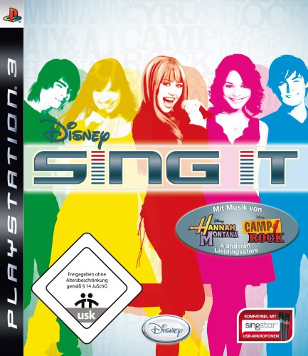 Disney Sing it (Disney-karaoke-playstation 3)