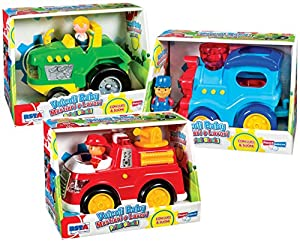 RS Toys - RSTA Mezzi Trabajo Baby L/S B/O Surtido Playset, Color, 10098