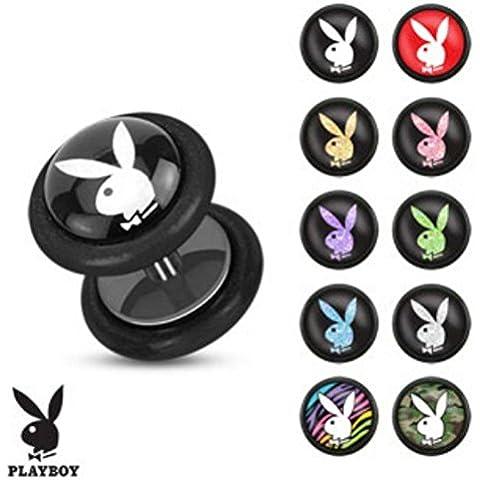 Falso Plug - plastica - Playboy Bunny - Playboy Pink Bunny