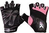 KIKFIT Damen Gel Handschuhe Fitnessbekleidung Fitness Radfahren Gewichtheben Rollstuhl XL