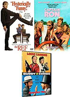 Cat burglar Comedic Gold: The Ref & Loose Cannons/ Another You + Captain Ron Kurt Russell (DVD 4 Feature Film Bundle)