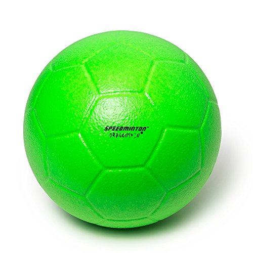 Preisvergleich Produktbild Speedminton Fußball Schaumstoffball, Neon Grün, 21cm