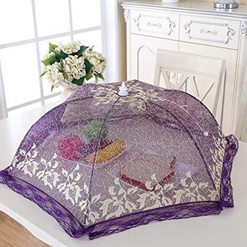changping Wickelping-Version, goldfarben, Drahtgeflecht, faltbar, ideal für Zuhause, Outdoor, Picknick für Zuhause, Dekoration violett (Camping-lebensmittel-heizung)