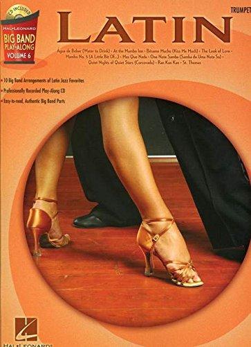 Big Band Play Along Vol.6 Latin Trumpet CD