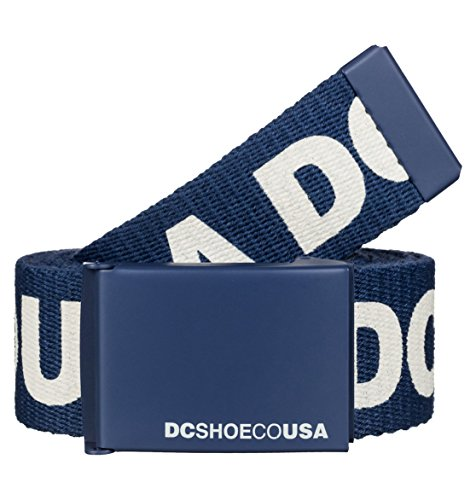 DC-Cintura da uomo Chinook, Uomo, Gürtel Chinook, Blue Indigo-Solid, Taglia unica