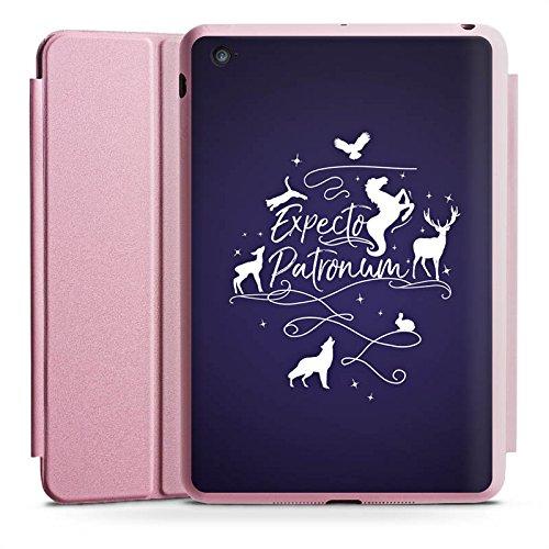 Apple iPad Mini 4 Smart Case rosa Hülle mit Ständer Schutzhülle Expecto Patronum Harry Potter - Harry Mini Case Potter Ipad