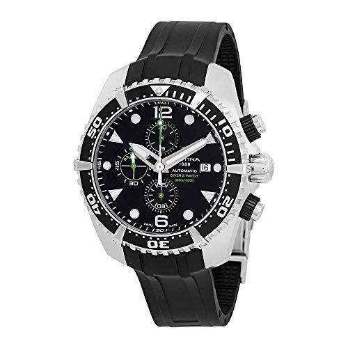 Certina Herren DS Action Diver Chronograph Automatik Uhr c0324271705100C032.427.17.051.00