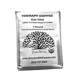 *The Real Deal* Cor-Vital 1 LB Enema Coffee Best for Coffee Enema Colon Cleanse and Detox 100% Ground Coffee Beans w…