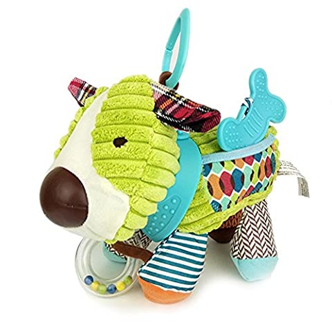JTENGYAO Baby Infant Hanging Dog Toy Plush Animal Kids Stroller