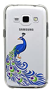 WOW Transparent Printed Back Cover Case For Samsung Galaxy J1