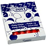 Jovi 441090 - Caja 6 Barras Maquillaje Roja 15 Gr