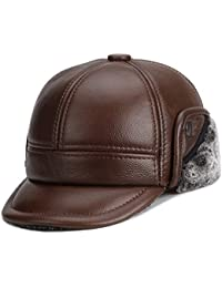 NZDHER Cappello Uomo Parenti di Mezza età E Anziani Addensati in Autunno E  Inverno Cappelli di 3dea4d2af62e