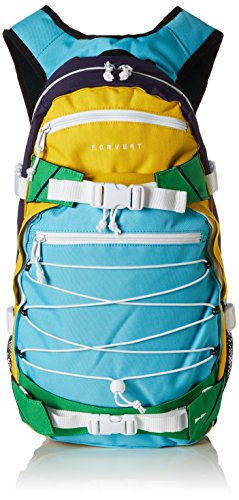 FORVERT Backpack Ice Louis, Mehrfarbig (Muticolour  ), 50.5 x 26.5 x 12 cm, 19.5 Liter, 880229