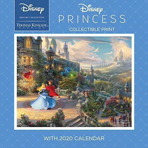 Disney Dreams Collection 2020 Collectible Print: Disney Princess par Thomas Kinkade