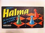 HALMA BY SPEARS GAMES. VINTAGE ORIGINAL 1972 BOARD GAME