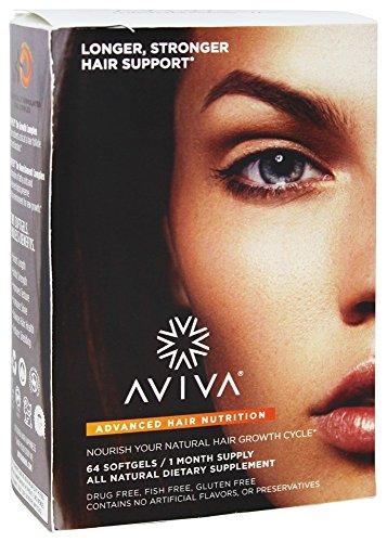 aviva-hair-rifornimento-avanzato-di-giorno-30-di-nutrizione-dei-capelli-64softgels