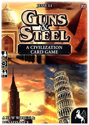 'Pegasus Juegos 18286e - de Tablero Guns y Steel - A Story of Civilization