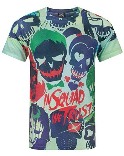 DC Comics Suicide Squad All Over Print Men's T-Shirt