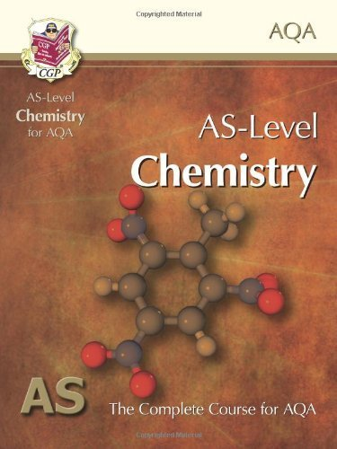AS Level Chemistry: The Complete Course for AQA by CGP Books (2012) Paperback