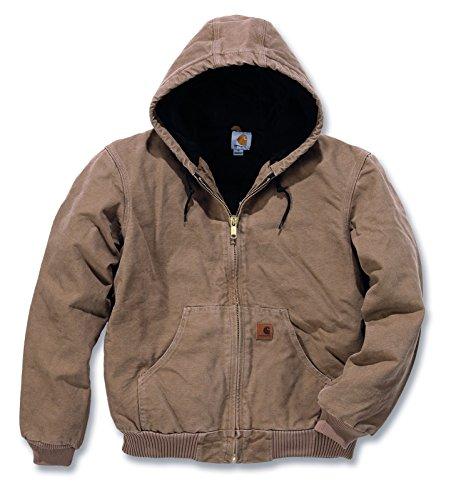 Quilt Flannel Lined Sandstone Active Jacket Carhartt frontier brown