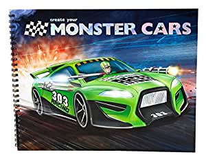 Monster Cars 8391–Livre à Colorier