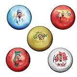 #7: AVI Pin Badges with Football Player Lionel Messi,Neymar,Cristiano Ronaldo,Iniesta & Toni Kroos Designs (6 cm)