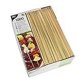 PAPSTAR 16658 1000 spiedini, bambù, 3 mm di Diametro, 20 cm