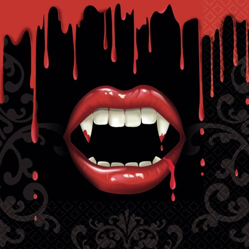 ier Servietten–Vampire (Halloween Servietten)