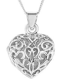 Collier Femme avec pendentif - Coeur - Argent 5.9 Gr