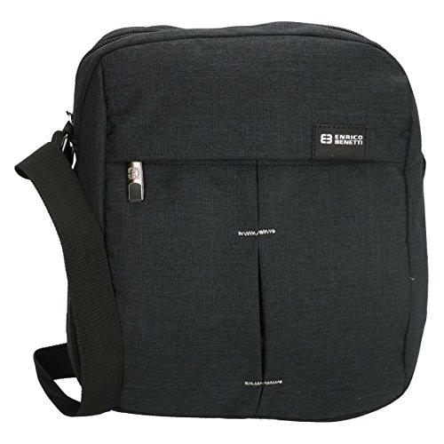 Enrico Benetti  Q1790  - Black benetti enrico shoulder bag (special tablet  10) 44b551e8fd5