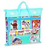 RSTA- Maxi Cuccioli 200X155 Tappeto Palestra Prima Infanzia Giocattolo 210, Stampa, Multicolore, 8004817100634