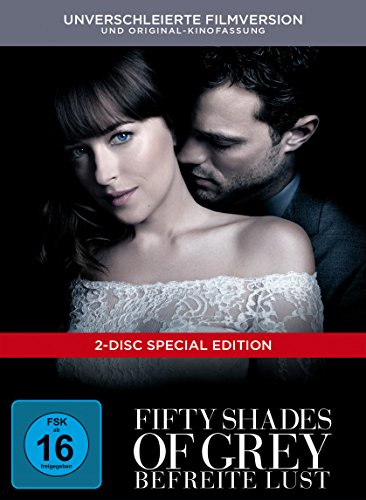 Fifty Shades of Grey - Befreite Lust Limited Digibook [2 DVDs]