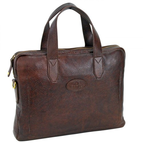 The Bridge Sfoderata Luxe Uomo 13'' Briefcase with laptop compartment 064071-79-14