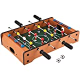 #1: Toyshine Mid-Sized Football Table Soccer Game with 4 Rods
