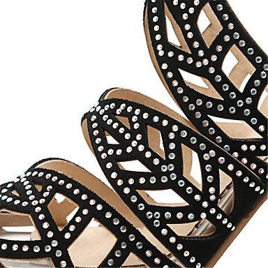 Enochx Donna Sandali Primavera Estate scarpe Club Gladiator vello materiali personalizzati Office & Carriera Party & abito da sera Stiletto Heel almond