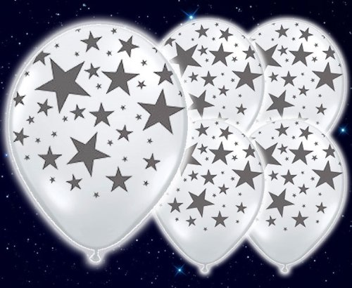 illoom Tricks Luftballons Sterne, 5Stück