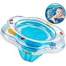 XMDDX Anillo Inflable de natación para bebés, Flotador de Anillo de natación para bebés con