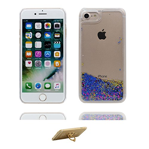 "Hülle iPhone 6 Plus, [ Liquid Fließendes Glitzer Bling Bling Floating sparkles ] iPhone 6S Plus Handyhülle Cover (5.5 zoll), iPhone 6 Plus Case Shell (5.5"") Anti-Beulen & Staubstecker - Pink # 4"