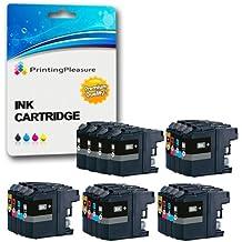 20 (4 SETS + 4 BLACK) Compatible Printer Ink Cartridges for Brother MFC-J470DW, MFC-J650DW, MFC-J870DW, MFC-J4410DW, MFC-J4510DW, MFC-J4610DW, MFC-J4710DW, MFC-J6520DW, MFC-J6720DW, MFC-J6920DW, MFC-J245 / DCP-J132W, DCP-J152W, DCP-J552DW, DCP-J752DW, DCP-J4110DW / LC123XL / LC-127XL / LC-125XL