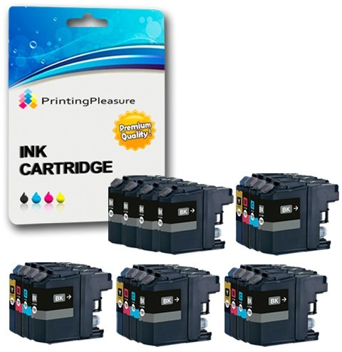 Best 20 XL (4 SETS + 4 BLACK) Compatible LC3219XL Ink Cartridges for Brother MFC-J5330DW MFC-J5335DW MFC-J5730DW MFC-J5930DW MFC-J6530DW MFC-J6930DW MFC-J6935DW – Black/Cyan/Magenta/Yellow, High Capacity (Black: 3,000 Pages & Cyan, Magenta, Yellow: 1,500 Pages)